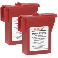 Pitney Bowes® 797-0 Compatible InkJet Cartridges (2/Pack)