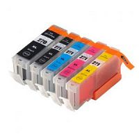 Remanufactured Canon PGI-270XL / CLI-271XL / CLI-271XL / CLI-271XL / CLI-271XL Inkjet Cartridge MultiPack