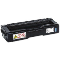 Compatible Ricoh 407654 Cyan Laser Toner Cartridge