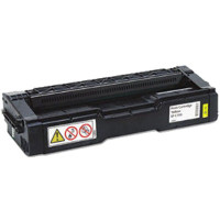 Compatible Ricoh 407656 Yellow Laser Toner Cartridge