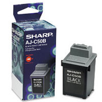 Sharp AJC50B Black InkJet Cartridge