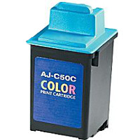 Sharp AJC50C ( Sharp AJ-C50C ) Compatible InkJet Cartridge