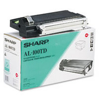 Sharp AL-100TD ( AL100TD ) Black Developer Laser Toner Cartridge