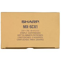Sharp MX-SCX1 ( Sharp MXSCX1 ) Laser Toner Staple Cartridges (3/Pack)