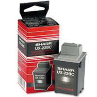 Sharp UX-22BC ( UX22BC ) Black Inkjet Cartridge