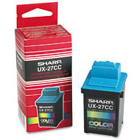 Sharp UX-27CC ( UX27CC ) Color Inkjet Cartridge