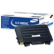 Samsung CLP-500D5C ( Samsung CLP500D5C ) Cyan Laser Toner Cartridge