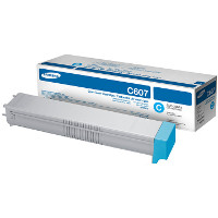 OEM Samsung CLT-C607S Cyan Laser Toner Cartridge