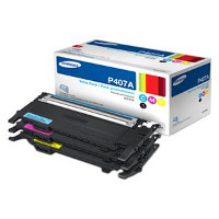 Samsung CLT-P407A Laser Toner Cartridge Value Pack