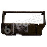 Star Micornics RC200B Compatible Black Fabric Printer Ribbons (6/Pack)