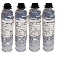 Savin 9856 Compatible Laser Toner Bottles (4/Pack)