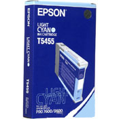 Epson T545500 Light Cyan Photographic Dye InkJet Cartridge