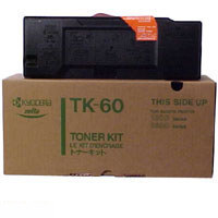 Kyocera Mita TK-60 ( TK60 ) Black Laser Toner Cartridge
