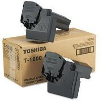 Toshiba T1600 Black Laser Toner Cartridges (2/Pack)