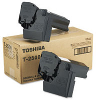Toshiba T2500 Black Laser Toner Cartridges (2/Pack)