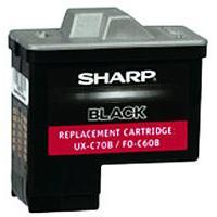 Sharp UX-C70B Black Inkjet Cartridge