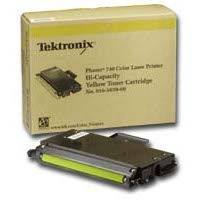 Xerox / Tektronix 016-1659-00 Yellow High Capacity Laser Toner Cartridge