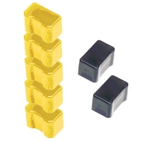 Xerox / Tektronix 016-1761-00 Compatible Solid Ink Sticks (5 Yellow / 2 Black)