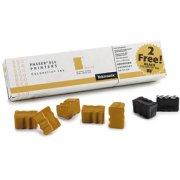 Xerox / Tektronix 016-1827-00 Solid Ink Sticks (5 Yellow / 2 Black)