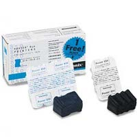 Xerox / Tektronix 016-1828-00 Solid Ink Sticks (2 Cyan / 1 Black)