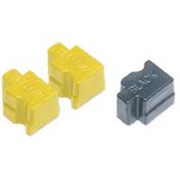 Xerox / Tektronix 016-1908-00 Compatible Solid Ink Sticks (2 Yellow / 1 Black)